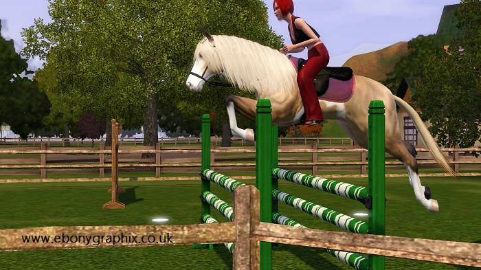 The Sims 3 Pets Horse
