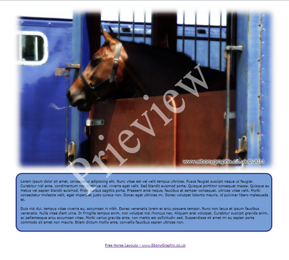 Trailer Horse